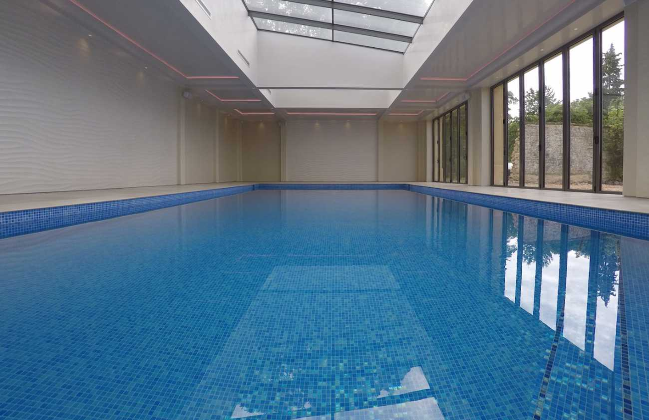 Indoor Minimalistic Pool