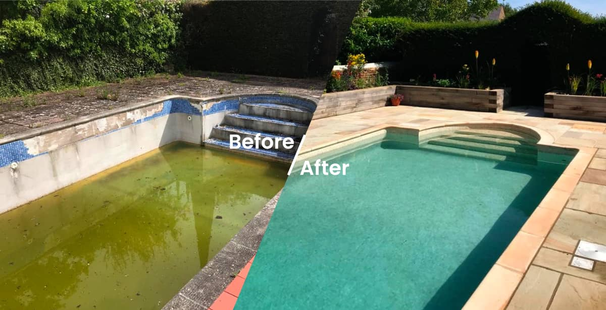 Before & After Pool